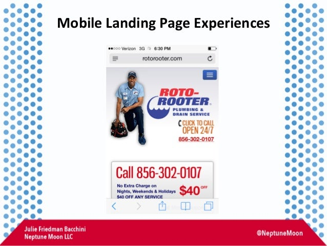 Mobile  Landing  Page  Experiences