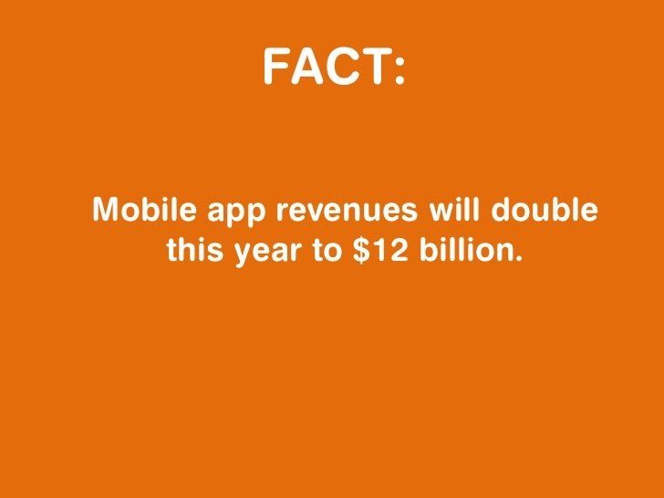 FACT:Tablet sales will increase nearly        100% this year.