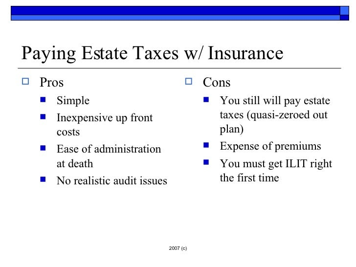 Do I Have To Pay Taxes On Life Insurance - Thismybrightside