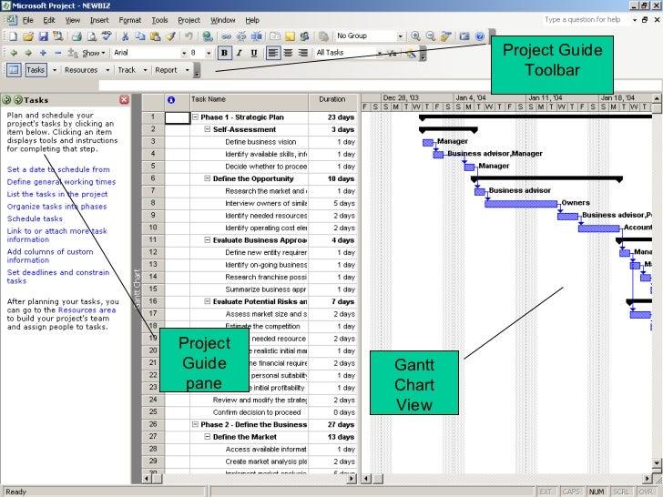 microsoft project print gantt chart