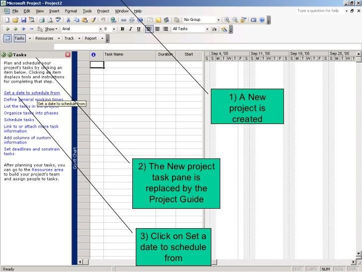 using microsoft project 2003 rh slideshare net Microsoft Project Online 2013 Microsoft Office Professional 2013