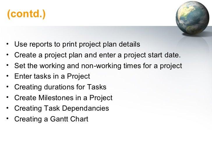 Using Microsoft Project 2003 Slide 3