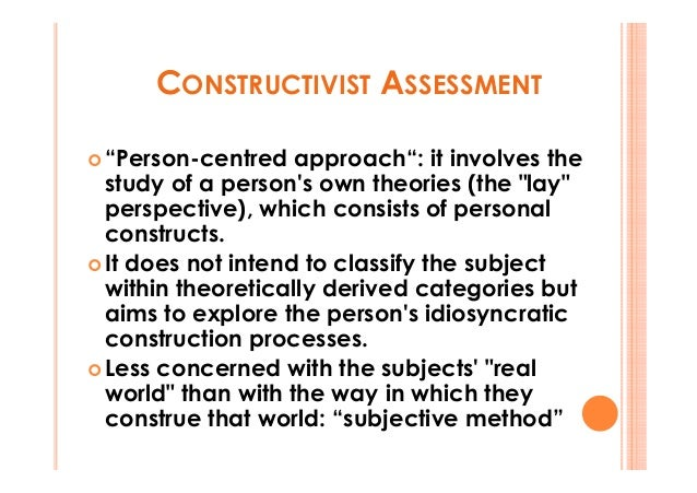 constructivist research Constructivist learning theory widespread acceptance of this old set of ideas and new research in cognitive constructivist views of the teaching and.