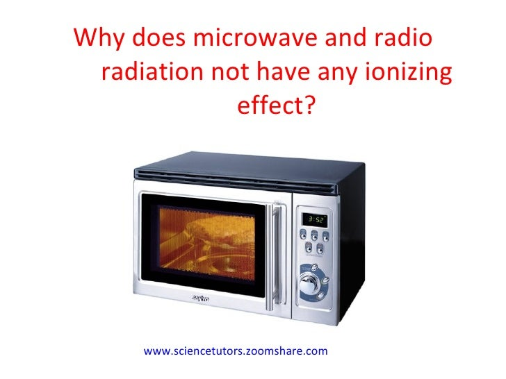 Using Radiation Microwave Ovens Amp Mobile Phones
