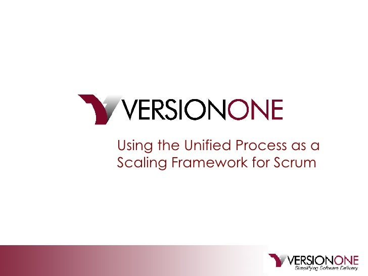 Using the Unified Process as a Scaling Framework for Scrum