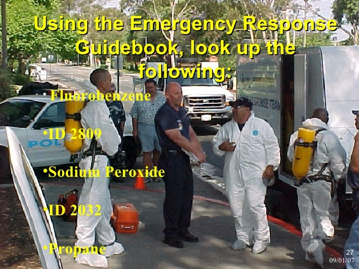 Video: Training: How to use the 2016 Emergency Response ...