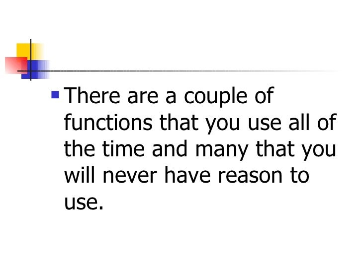 Using The Function In Excel 3