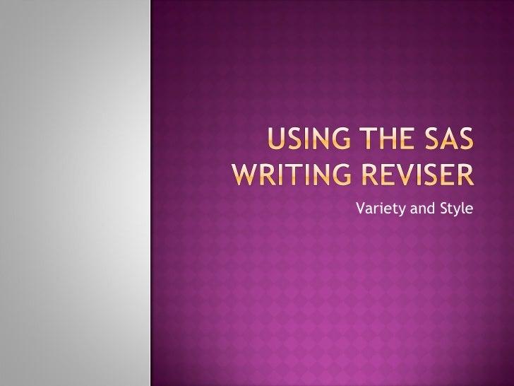 online writing reviser