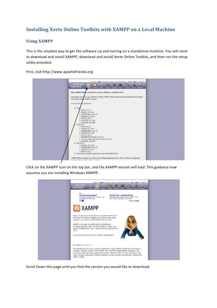 how to run php in xampp server