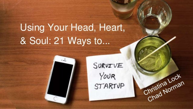 Using Your Head, Heart, & Soul: 21 Ways to...
