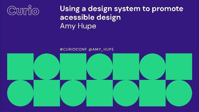 Amy Hupe Senior Content Designer GOV.UK Design System team @Amy_Hupe