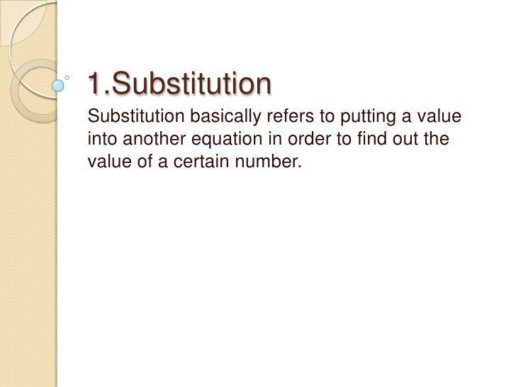 solving problems using algebra