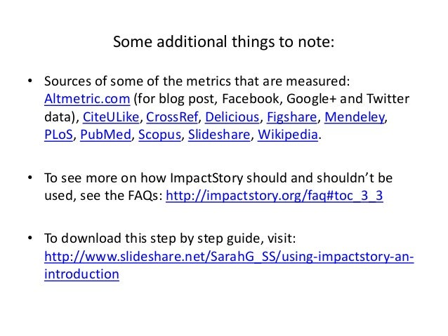 Using the Altmetric.com bookmarklet and ImpactStory_5June2014