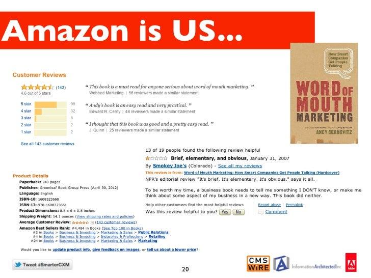 Amazon is US...           20