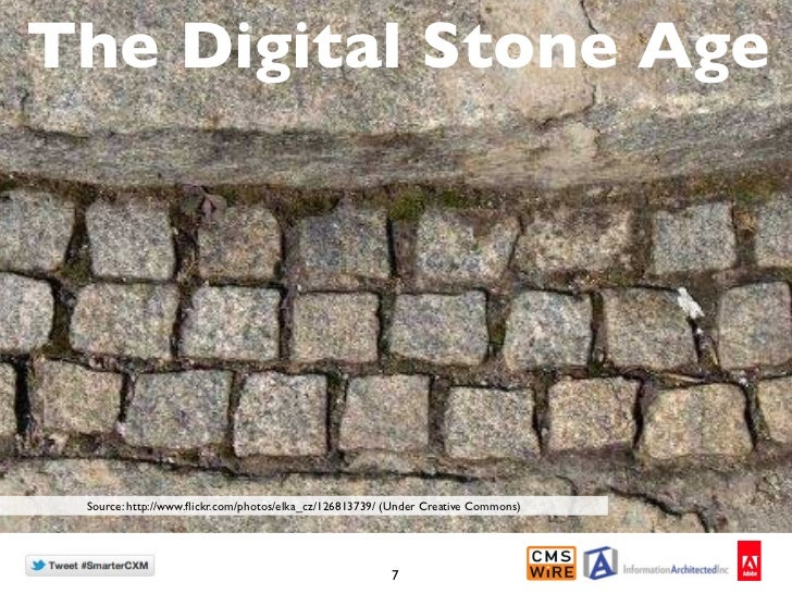 The Digital Stone Age Source: http://www.flickr.com/photos/elka_cz/126813739/ (Under Creative Commons)                     ...