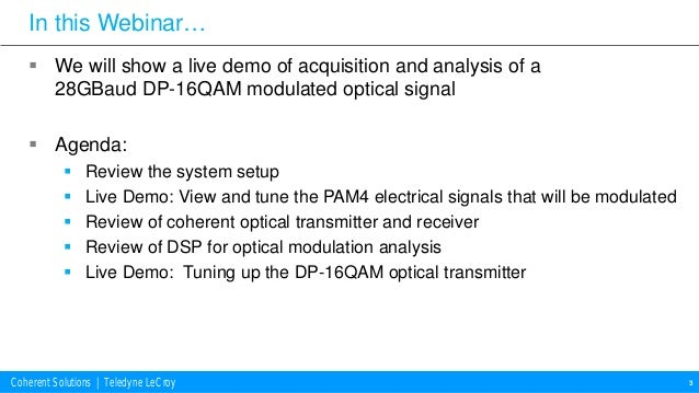 using and oma to optimize qam optical transceivers