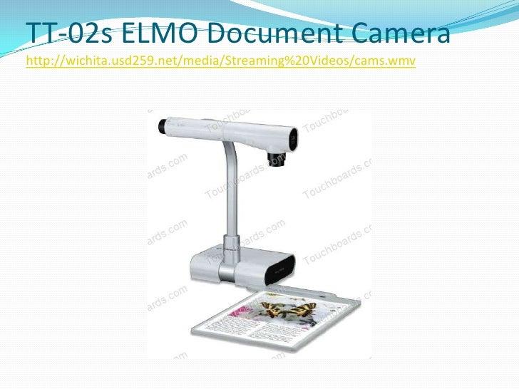 Elmo Teacher s Tool TT-02s - document camera Specs
