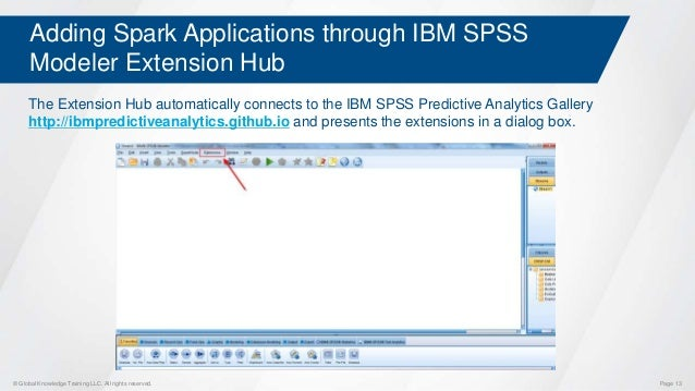 Using Apache Spark with IBM SPSS Modeler
