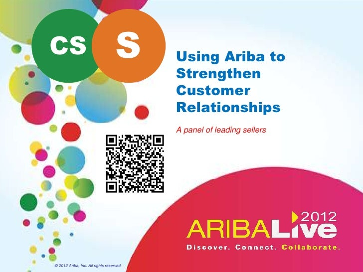 CS                                 S      Using Ariba to                                          Strengthen              ...