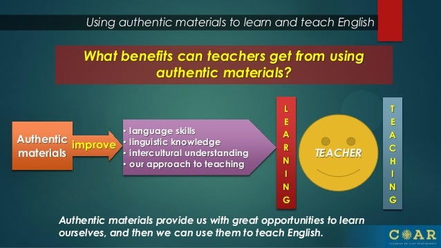 Using authentic materials short - roger aguirre final
