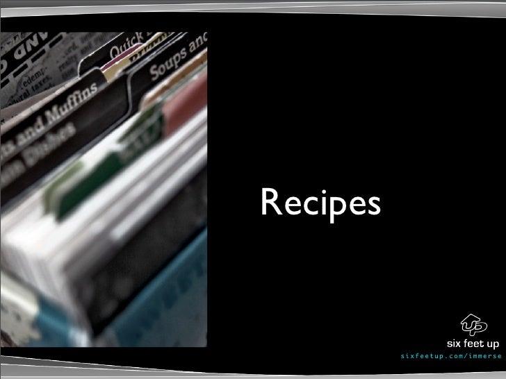 Recipes             s ixf eet up. c om/ i mme r se