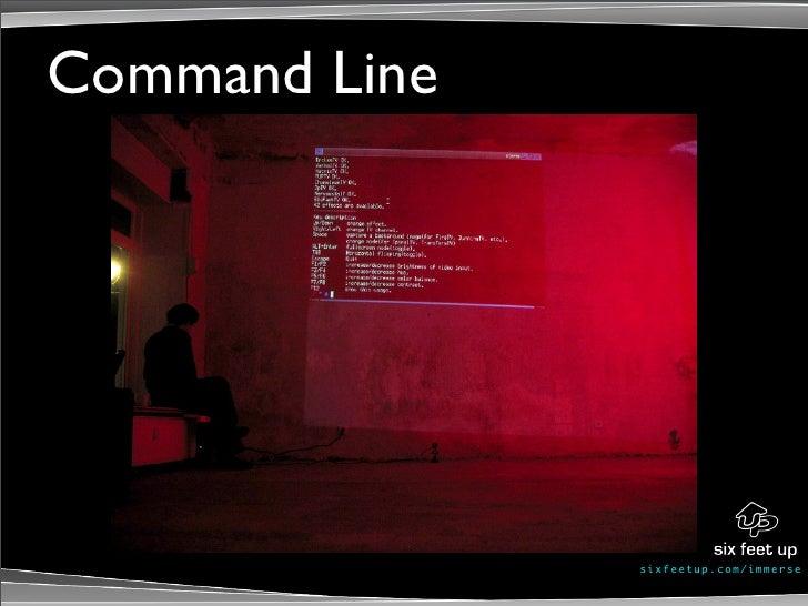 Command Line                    s ixf eet up. c om/ i mme r se