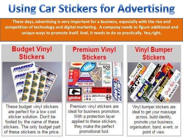Usingcarstickersforadvertisingjpgcb - Vinyl stickers for marketing