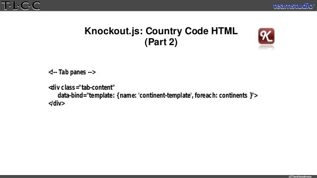 knockout template foreach - using cool new frameworks in mobile domino apps