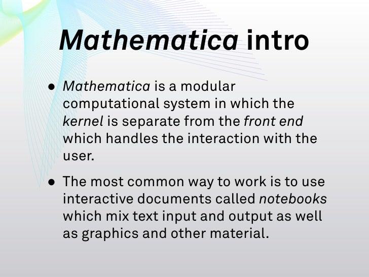 Using Cuda Within Mathematica Slide 3