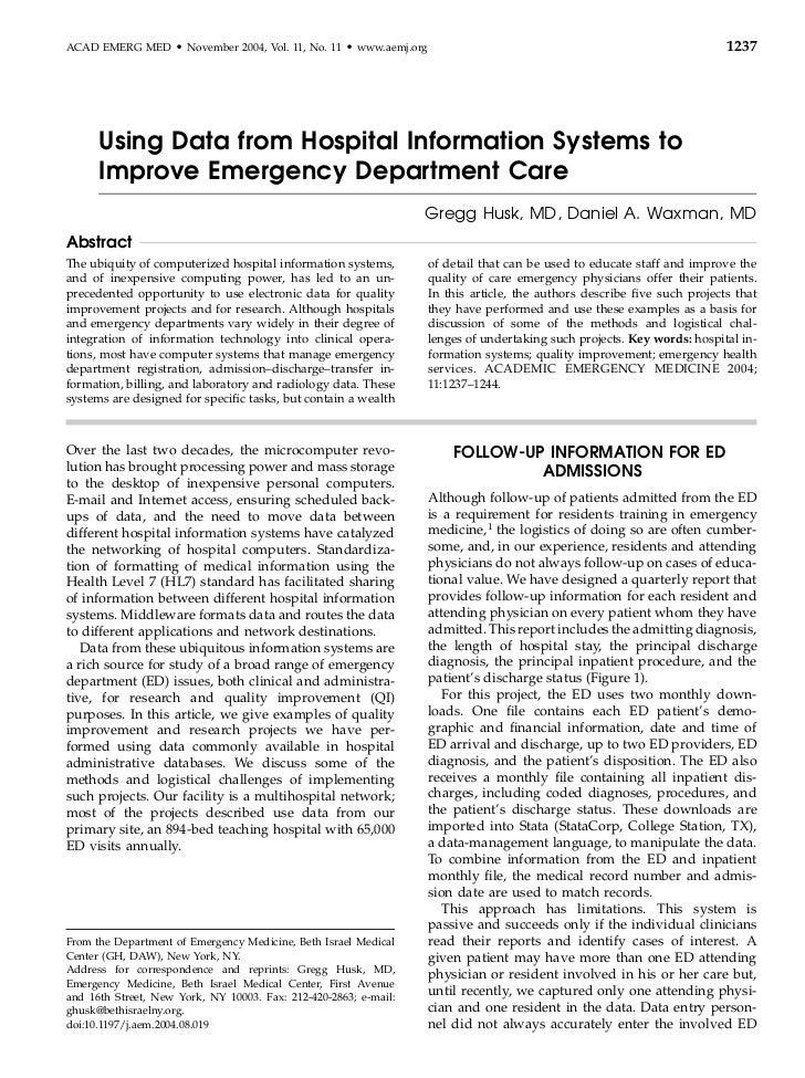 ACAD EMERG MED       d   November 2004, Vol. 11, No. 11   d   www.aemj.org                                                ...