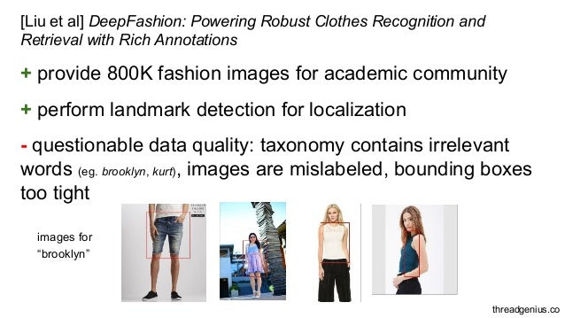 Using Deep Neural Networks For Fashion Applications