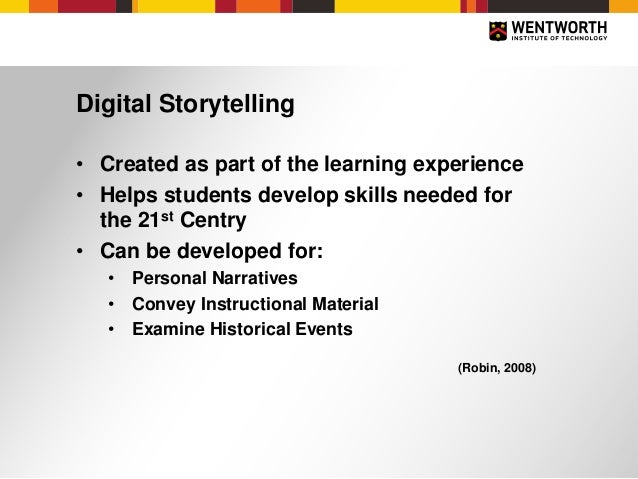 Using Digital Storytelling Tools