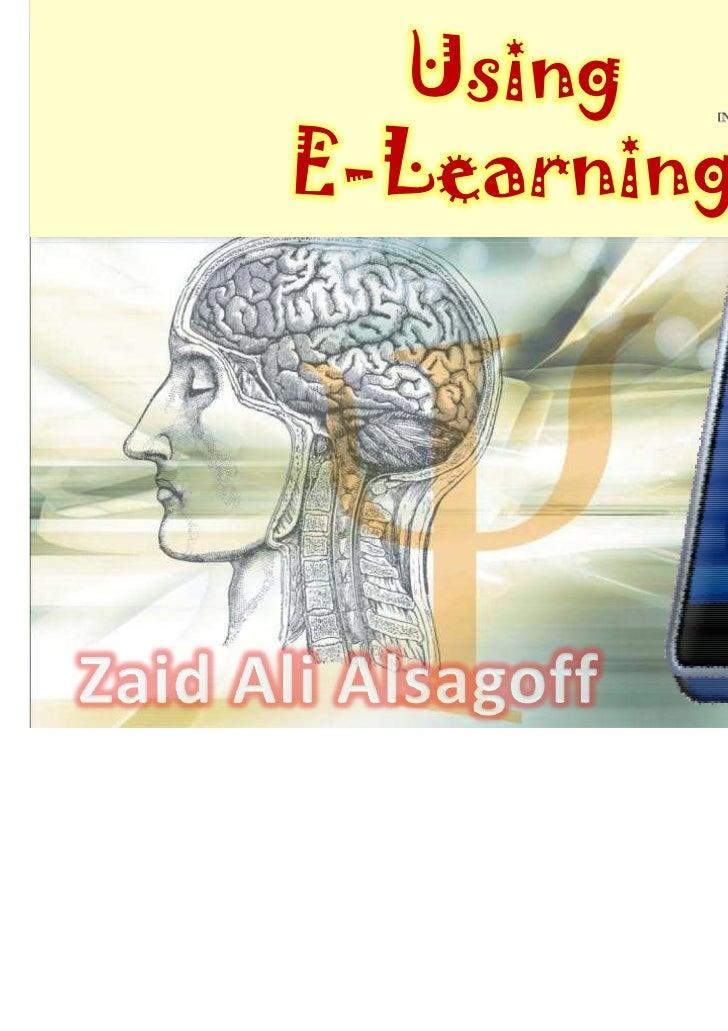 UsingE-Learning
