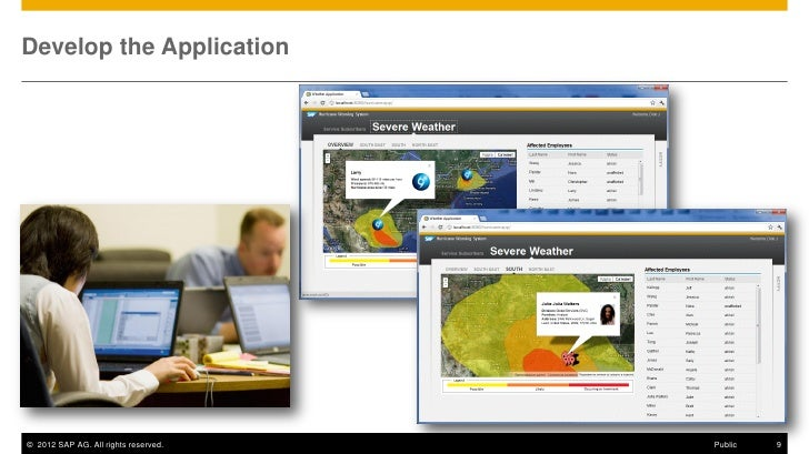 Develop the Application© 2012 SAP AG. All rights reserved.   Public   9