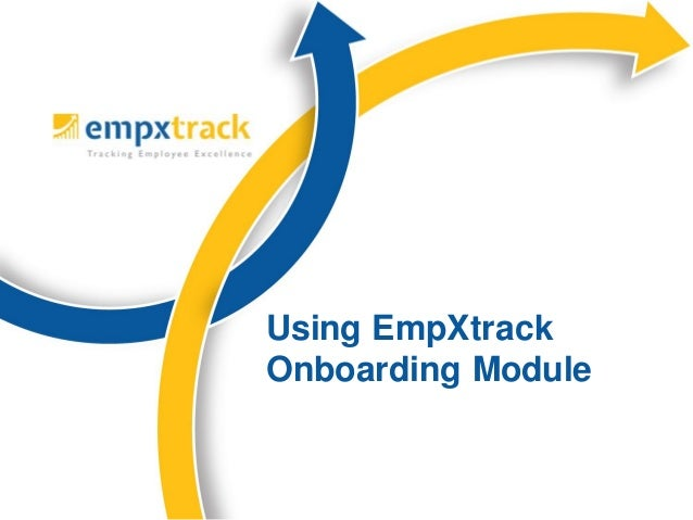 Using EmpXtrack Onboarding Module