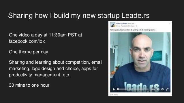 Using facebook live for business Slide 3