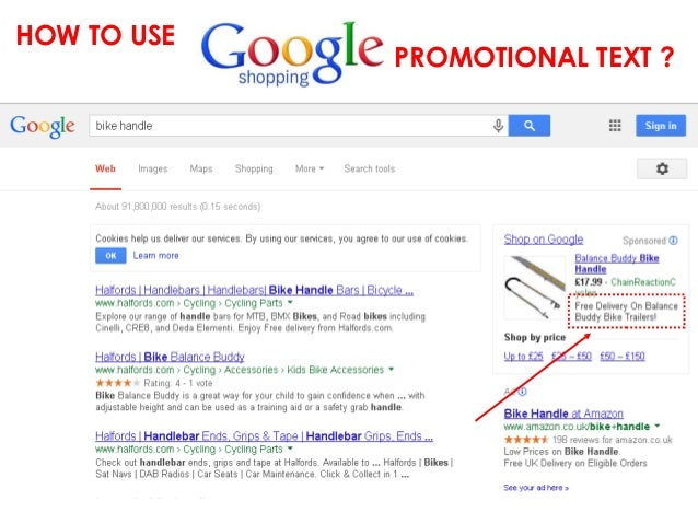 HOW TO USE  PROMOTIONAL TEXT ?
