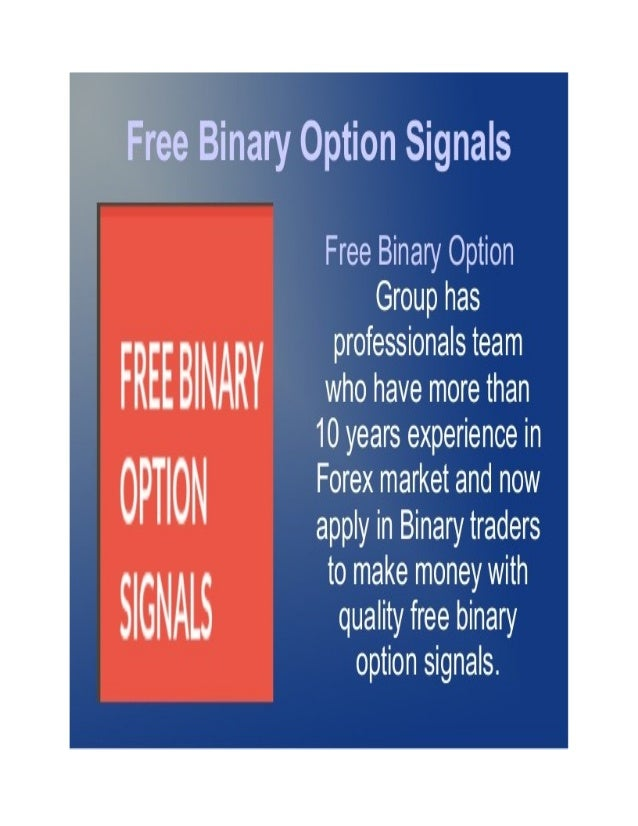 Binary options trading signals trial
