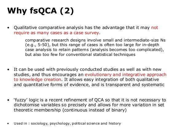 Comparative analysis dissertation