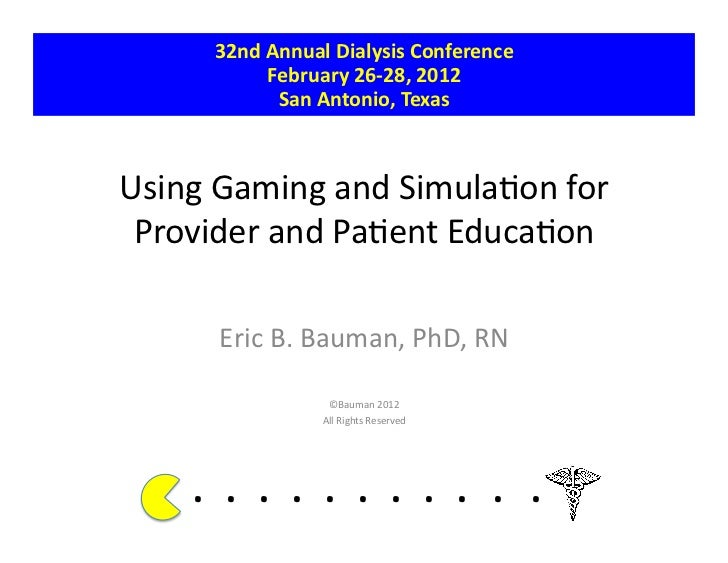 32nd Annual Dialysis Conference                   February 26-‐28, 2012                    San Antonio, ...