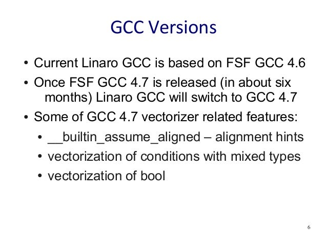 Using Gcc Auto Vectorizer