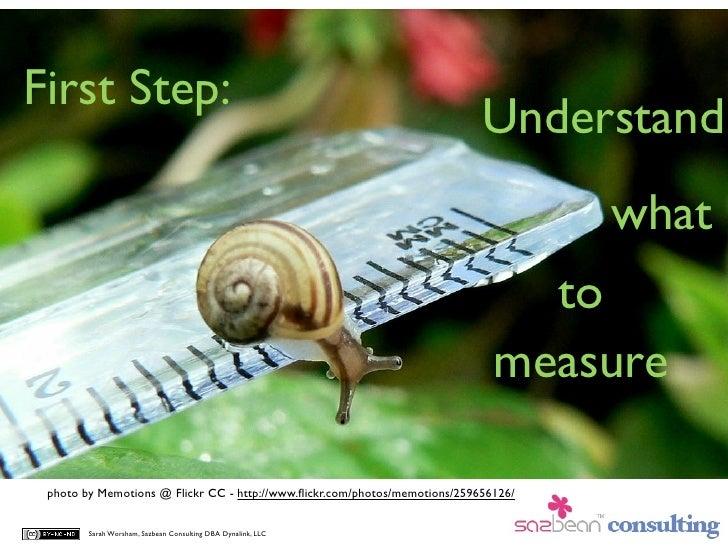 First Step:                                                                             Understand                        ...