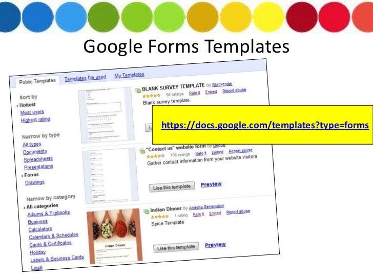 google form templates - Bare.bearsbackyard.co