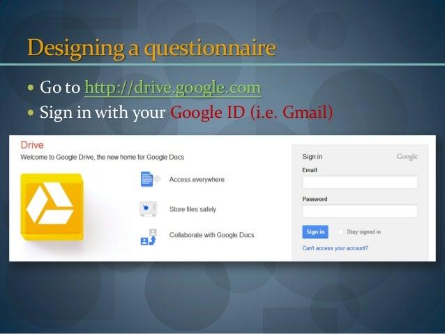 online dissertation questionnaire