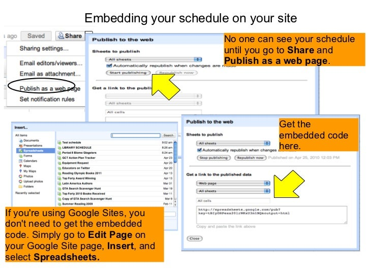 how to create an email schedule google