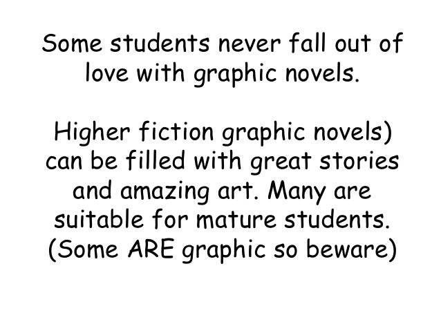 Using Graphic Novels to Encourage Reading