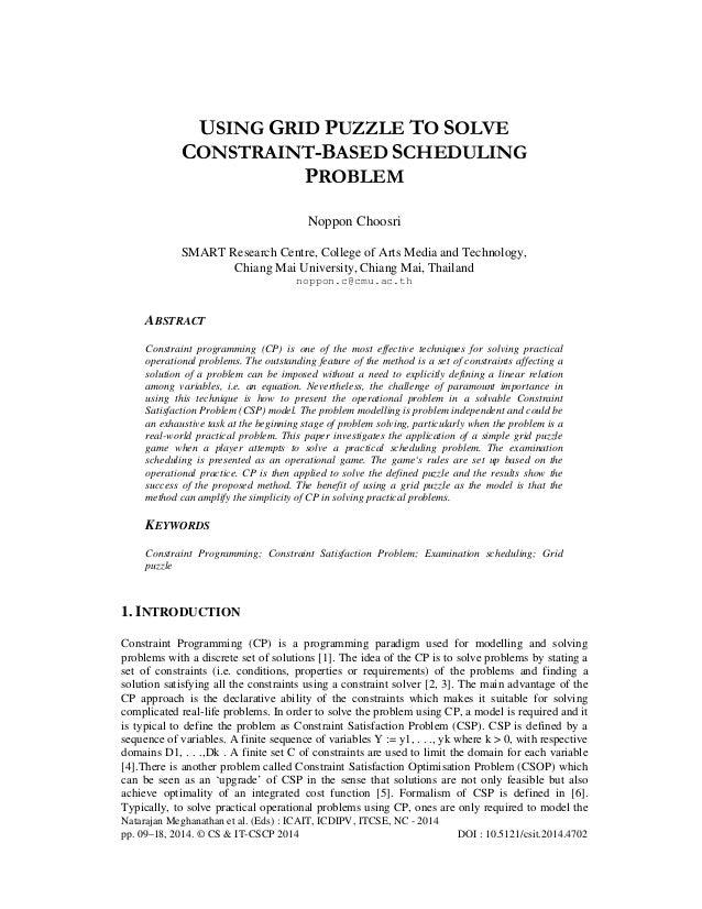 Natarajan Meghanathan et al. (Eds) : ICAIT, ICDIPV, ITCSE, NC - 2014 pp. 09–18, 2014. © CS & IT-CSCP 2014 DOI : 10.5121/cs...
