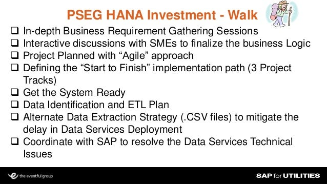 Using Hana To Add Value To Electric Amp Gas Revenue Integrity