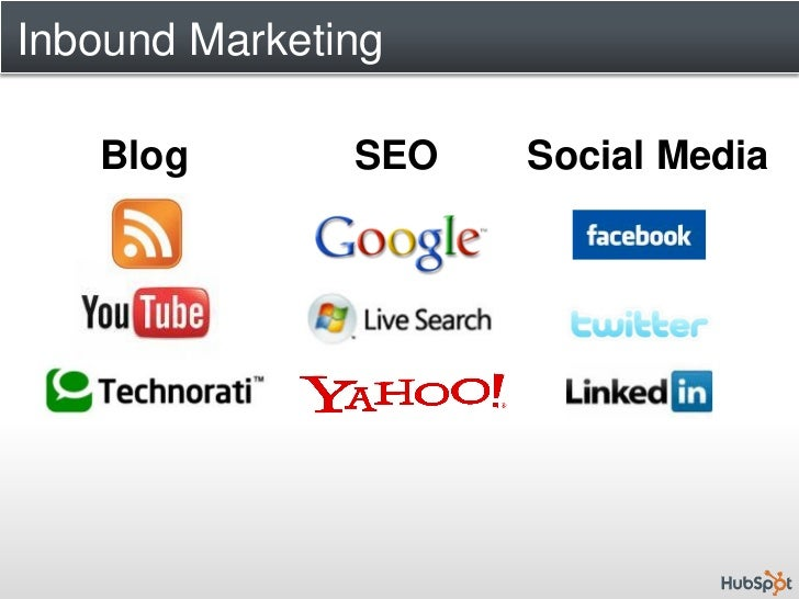 "hubspot inbound marketing and web 2 analysis solution Inbound marketing- an innovative marketing strategy founded by the hubspot creators, was developed on the concept that to get customers to be interested in your product, ""pulling"" them in by use of web 20 technology was much more effective than using traditional methods of marketing that pushed products and services to target audience who."
