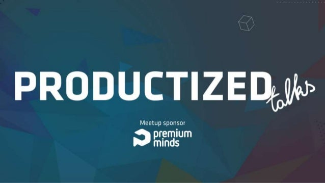 Tania Vieira Productized talks Using Human-Centered Design to Create Better Products UX Designer @ Premium Minds